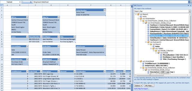 Consuming SSRS data in Excel 2007 « Chris Webb's BI Blog