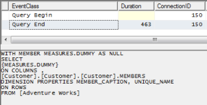 SSRS and SSAS-Sourced Parameter Dataset Performance Issues