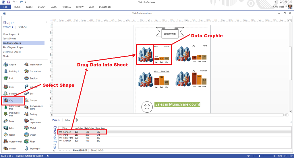 image - Office Online Visio