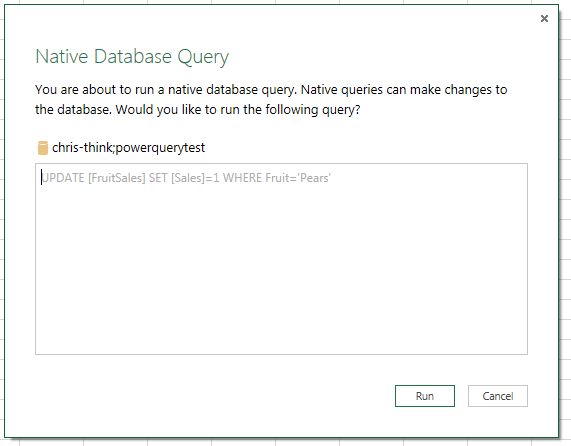Updating Data In SQL Server With Power Query « Chris Webb's BI Blog