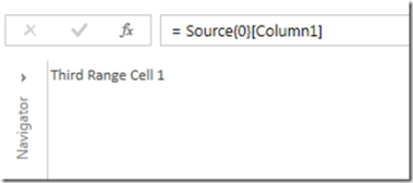 Working With Excel Named Ranges In Power Query « Chris Webb's BI Blog