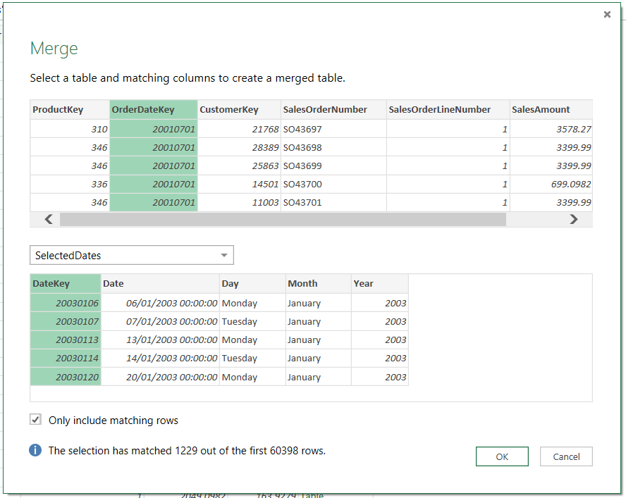 Using Excel Slicers To Pass Parameters To Power Query