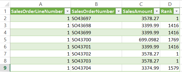 Improving Power Query Calculation Performance With List