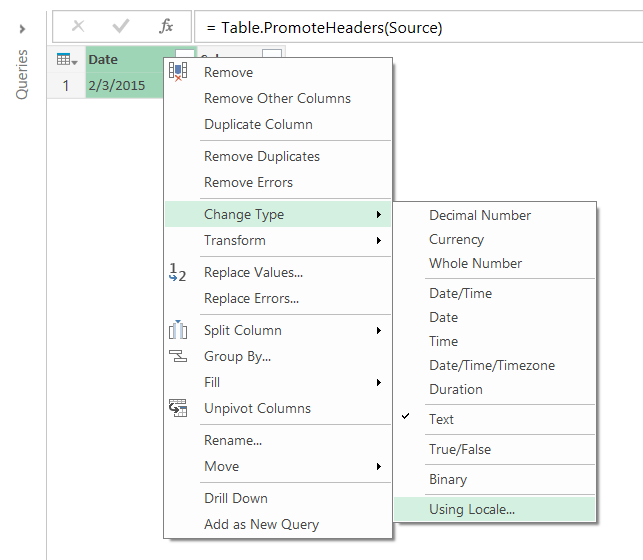 Working With International Date And Number Formats In Power Query