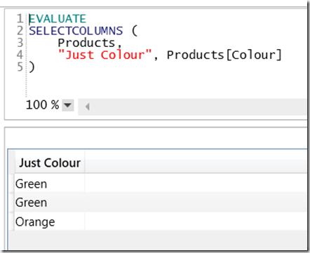 Using SelectColumns() To Alias Columns In DAX « Chris Webb's BI Blog