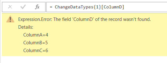 Referencing Individual Cell Values From Tables In Power