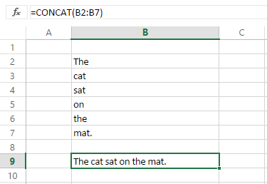 new ways to concatenate text in excel 2016 with concat and