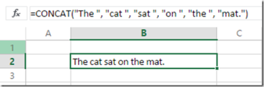 New Ways To Concatenate Text In Excel 2016 With CONCAT() And