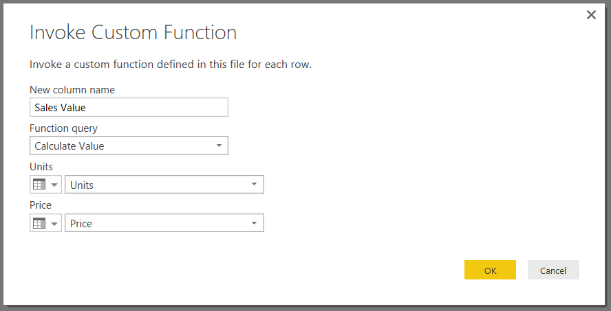 Using The Invoke Custom Function Button In Power BI « Chris Webb's