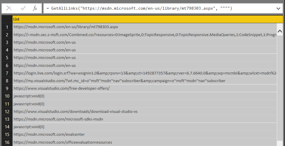 Using Text BetweenDelimiters() To Extract URLs From A Web