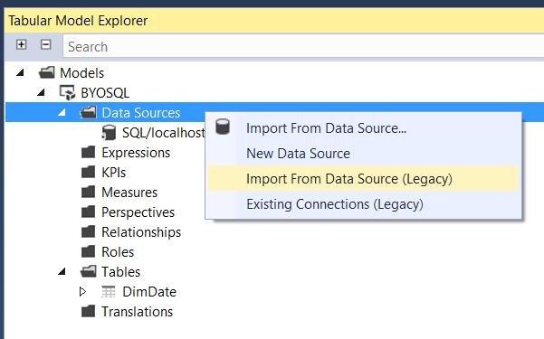 Using Your Own SQL Queries For Tables With Modern Data