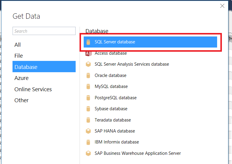 Setting SQL Server Connection String Properties In Power BI and SSAS
