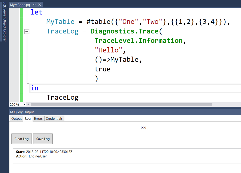 Running M Queries In Visual Studio With The Power Query SDK
