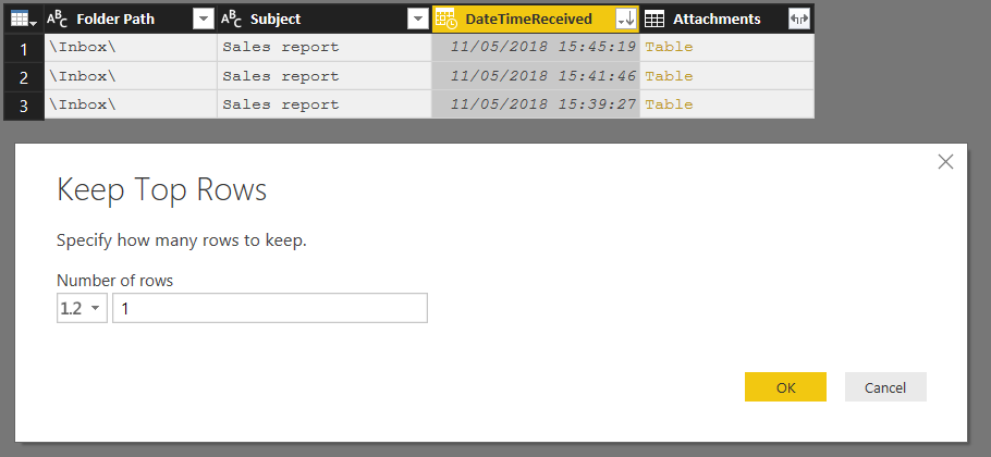 Using Email Attachments As A Data Source In Power BI « Chris