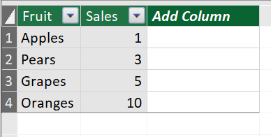 Finding All Selected Items In An Excel Slicer Connected To