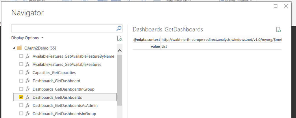 Using OpenApi Document() To Create A Power BI Custom