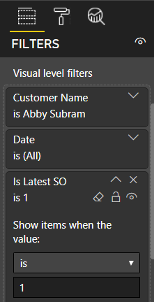 Complex Filter Conditions In Power BI Reports Using Visual-Level